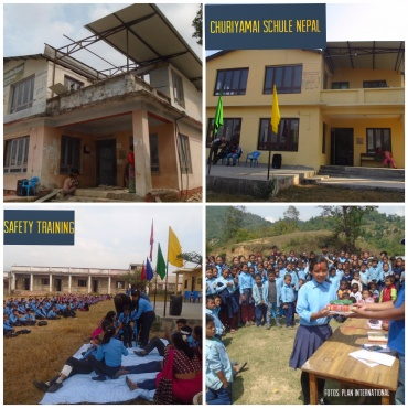 Nepal Projektupdate – Lernen in sicherer Umgebung //Nepal Projectupdate – Learning in a safer environment