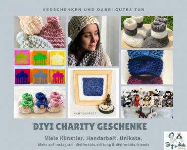 Diyi Charity Geschenke – Neue Kollektionen – Verschenken und dabei Gutes Tun! // Diyi Charity Gifts – New Collections – Give away and do good!